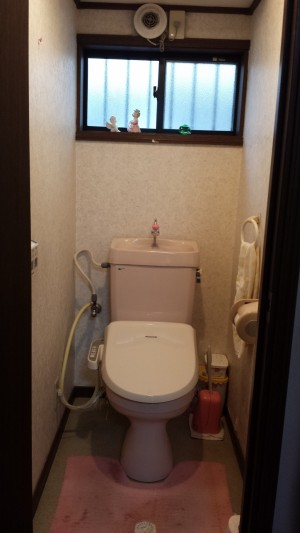 N様邸 トイレ 工事前
