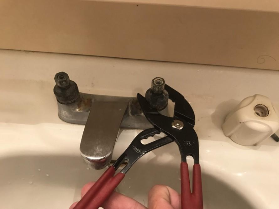水栓修理4