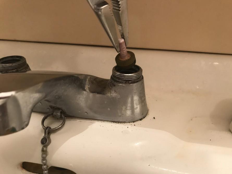水栓修理5